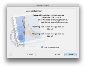 Mac OS X Mail Instructions